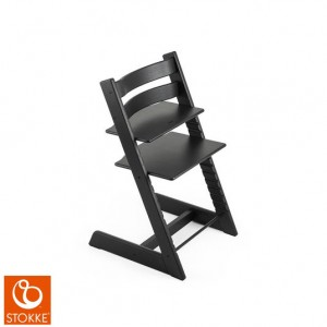 Stokke Tripp Trapp Chair - Oak Black