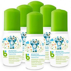 BabyGanics alcohol-free foaming hand sanitizer 50ml
